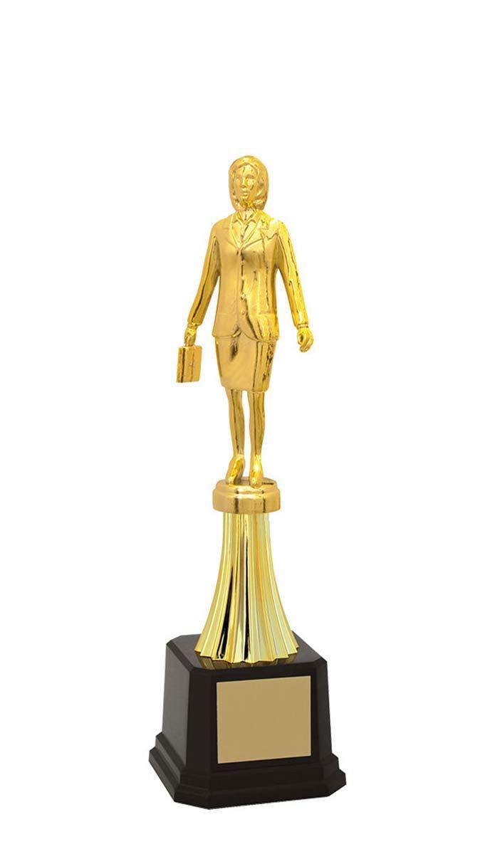 Troféu de Executivo Feminino EXE2900 29,5 / 26,7 / 23,3cm