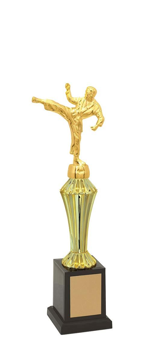 Troféu de Karatê KAR1200 34,3 / 29,9 / 25,6cm