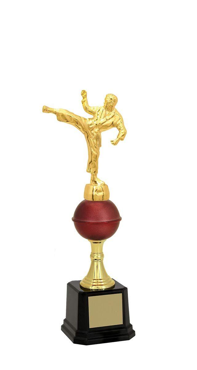 Troféu de Karatê KAR1700 31,3 / 29,3 / 28,0cm