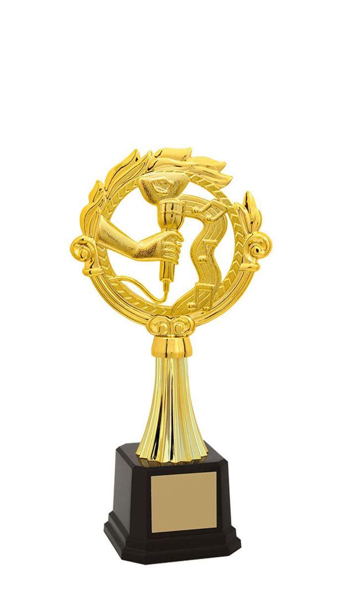 Troféu de Música-Karaokê  MUS2903 27,0 / 24,2 / 20,8cm