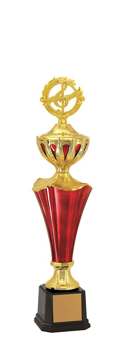 Troféu de Música-Karaokê  MUS500 65,5 / 57,5 / 49,5cm