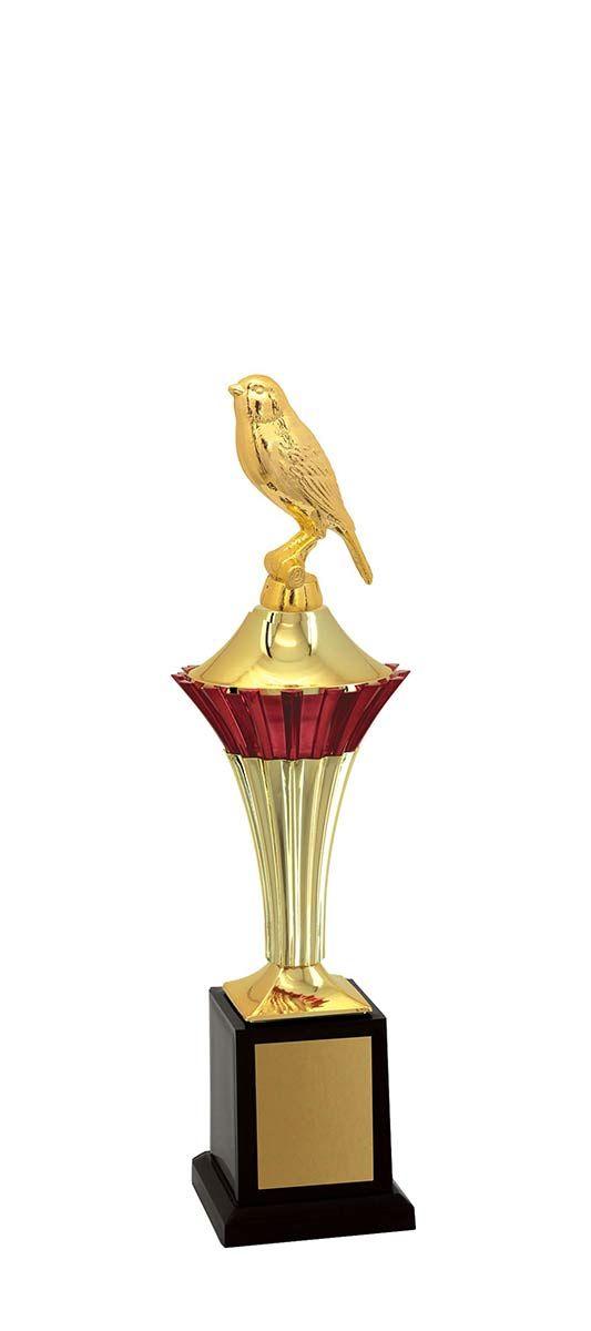 Troféu de Ornitologia -Pássaros ORN1100 34 cm