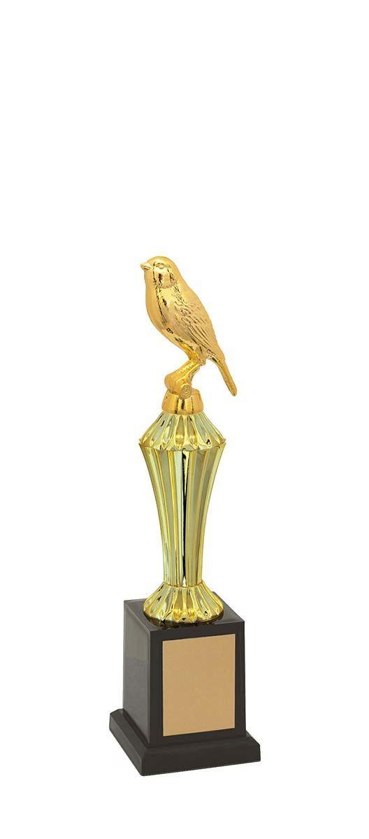 Troféu de Ornitologia -Pássaros ORN1200 29 cm