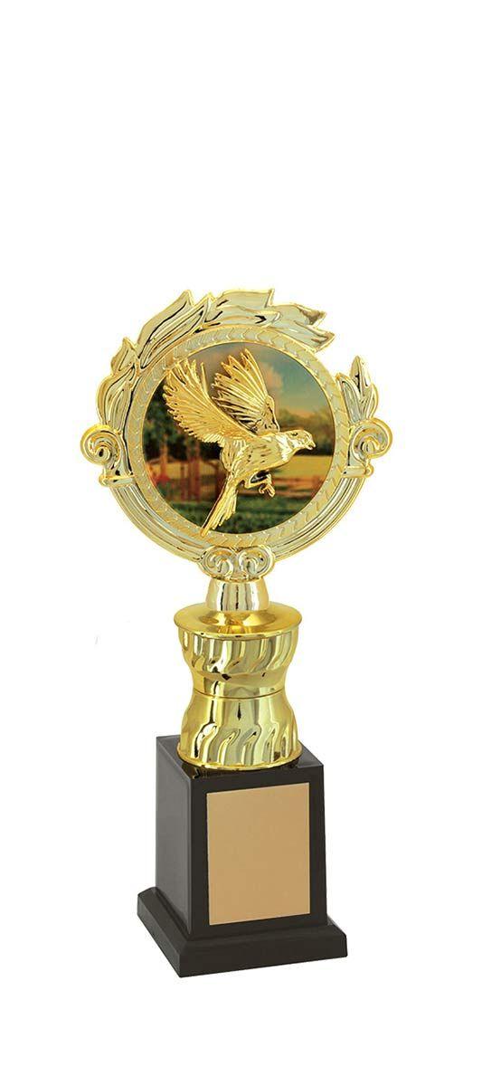 Troféu de Ornitologia -Pássaros ORN1306 26,0 / 23,0 / 21,0cm