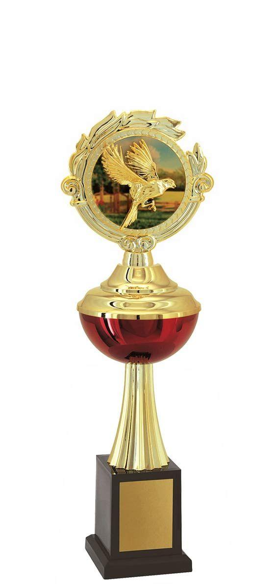 Troféu de Ornitologia -Pássaros ORN1506 34,0 / 30,0 / 26,0cm
