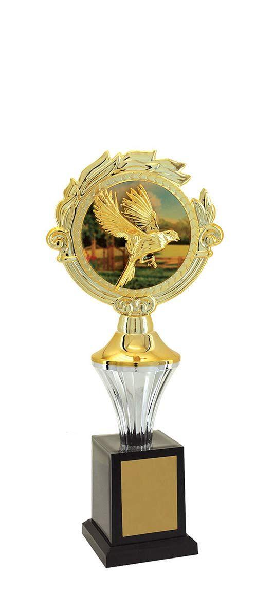 Troféu de Ornitologia -Pássaros ORN2506 28 cm