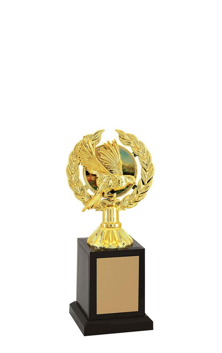 Troféu de Ornitologia -Pássaros ORN2803 21 cm