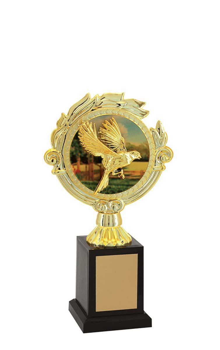 Troféu de Ornitologia -Pássaros ORN2806 21,0 / 18,0 / 16,0cm