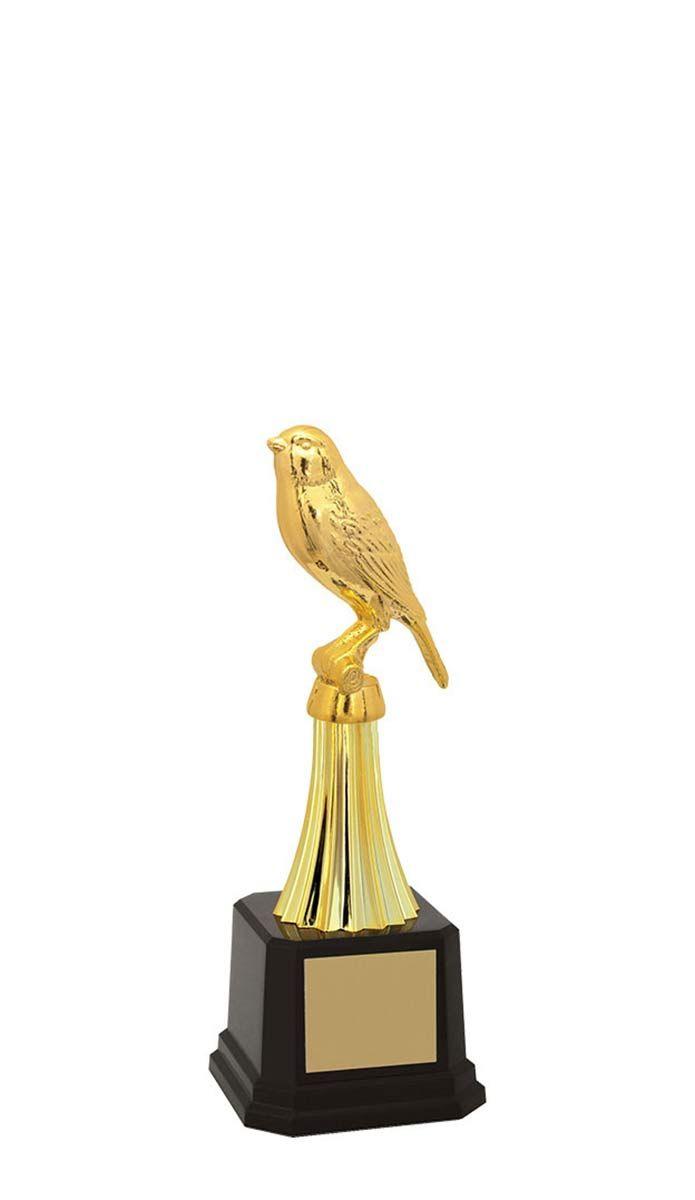 Troféu de Ornitologia -Pássaros ORN2900 21,5 / 18,7 / 15,3cm