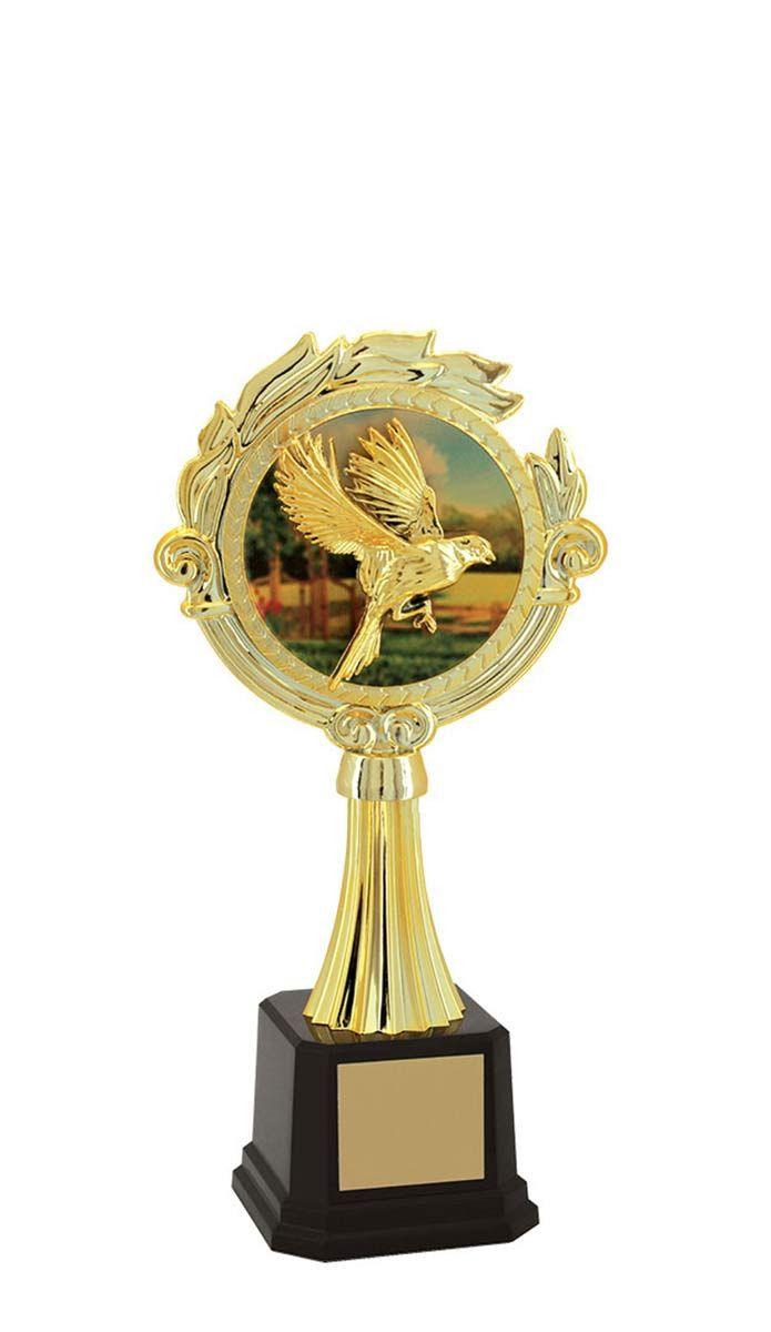 Troféu de Ornitologia -Pássaros ORN2906 23,5 cm