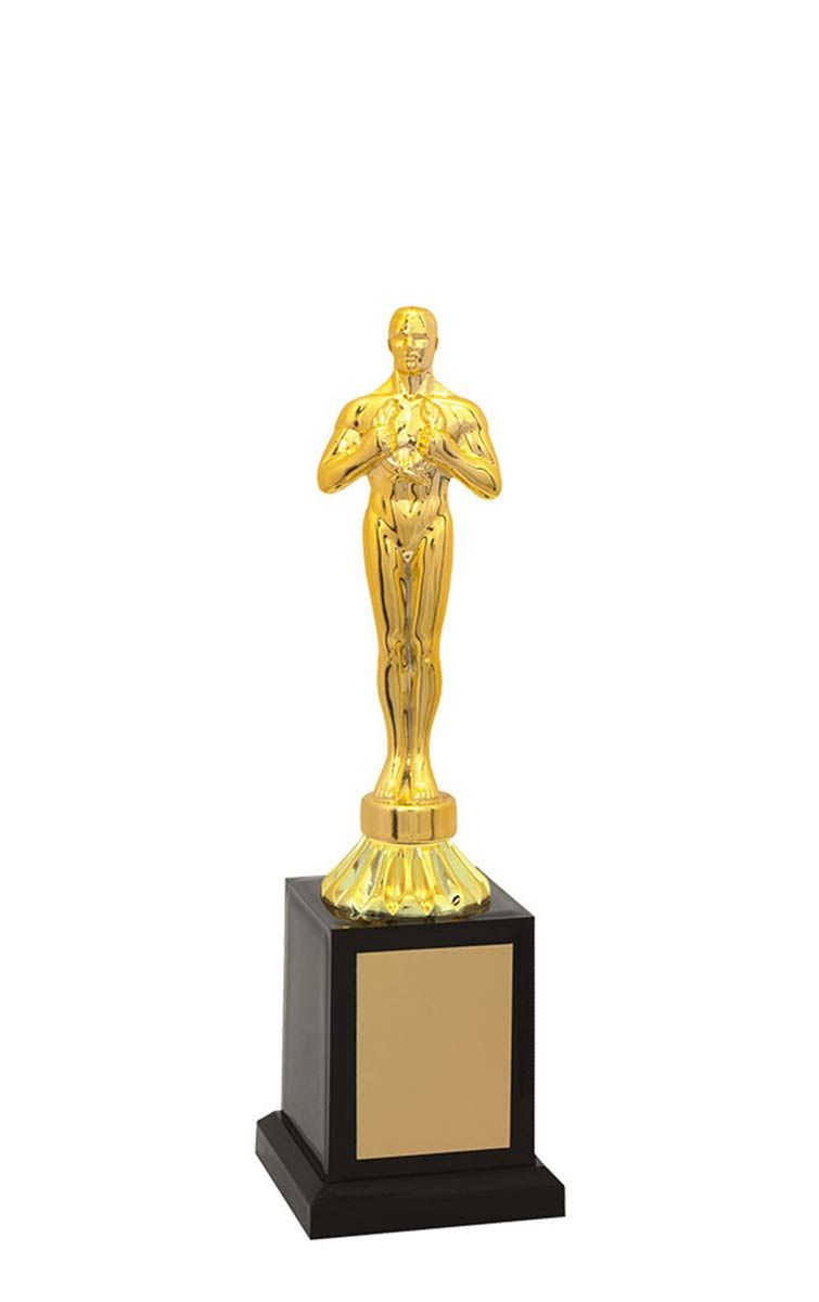 Troféu de Oscar e Vitória OSC2800 25,5 cm
