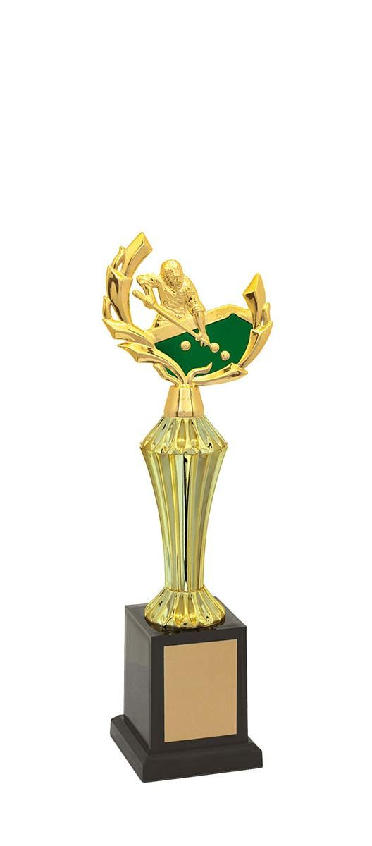 Troféu de Snooker-Sinuca SNK1203 32,0 / 27,6 / 23,3cm