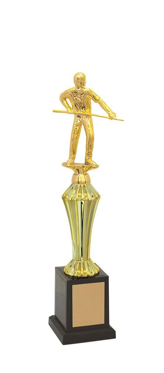 Troféu de Snooker-Sinuca SNK1206 36,0 / 31,6 / 27,3cm