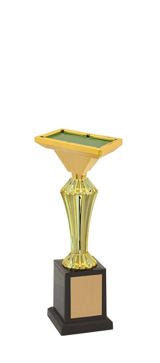 Troféu de Snooker-Sinuca SNK1209 27,3  / 22,9 / 18,6cm