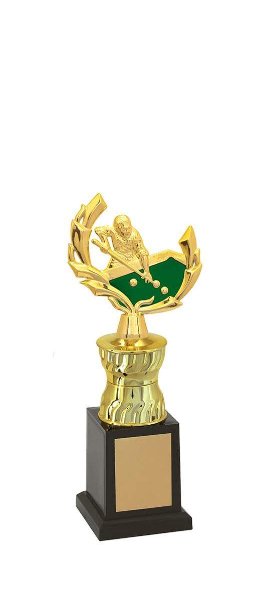 Troféu de Snooker-Sinuca SNK1303 27,0 / 24,0 / 22,0cm