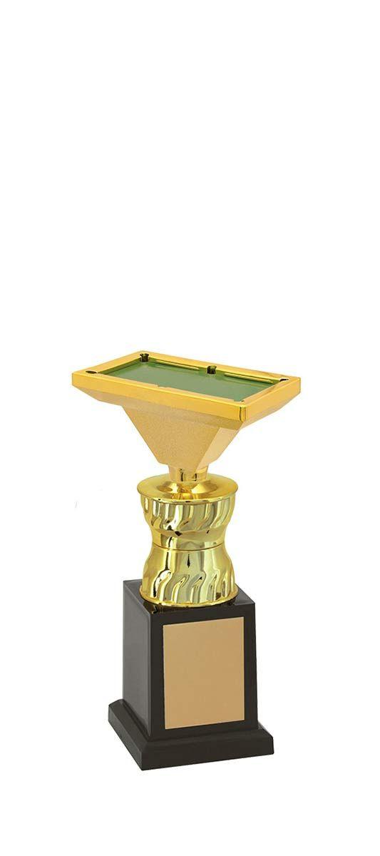 Troféu de Snooker-Sinuca SNK1309 22,3 / 19,3 /17,3cm