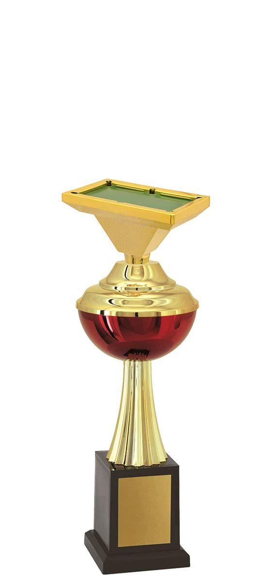 Troféu de Snooker-Sinuca SNK1509 30,3 / 26,3 / 22,3cm