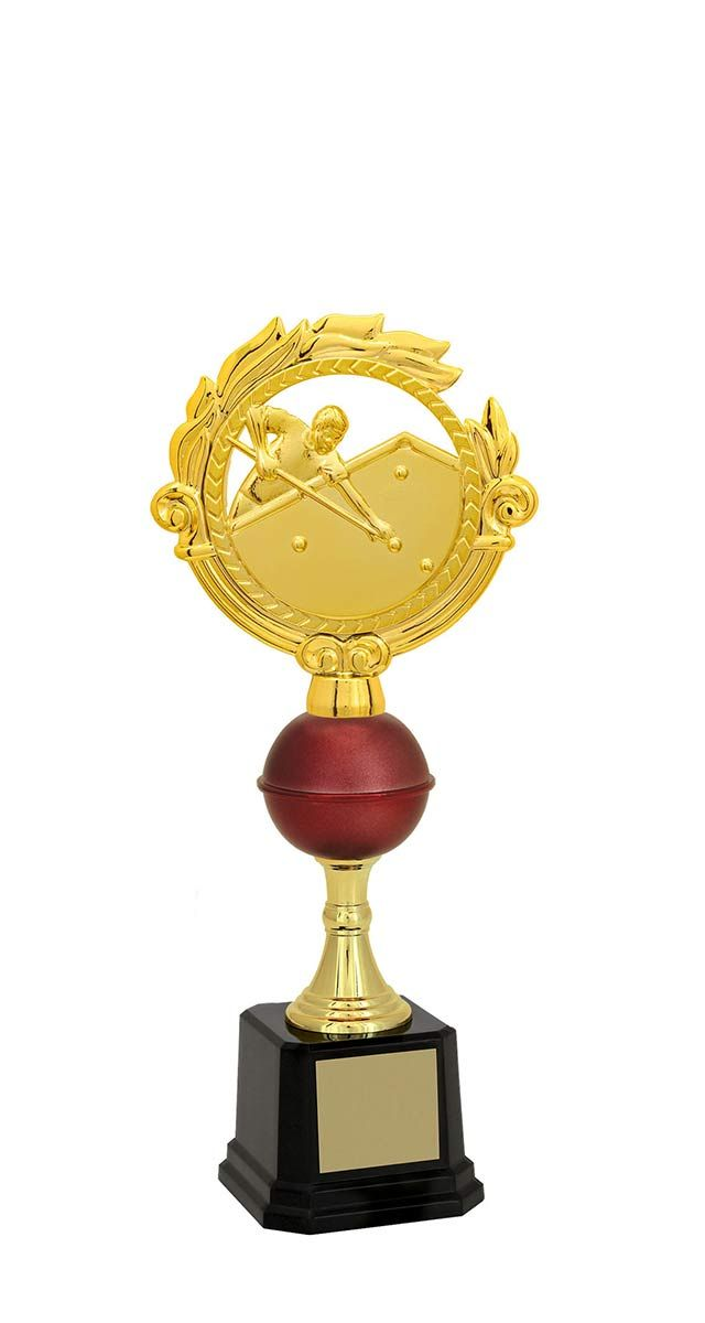 Troféu de Snooker-Sinuca SNK1700 31,5 / 29,5 / 28,2cm