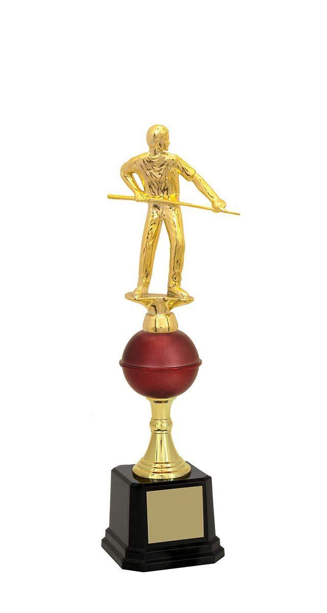 Troféu de Snooker-Sinuca SNK1706 33,0 /31,0 /29,7cm