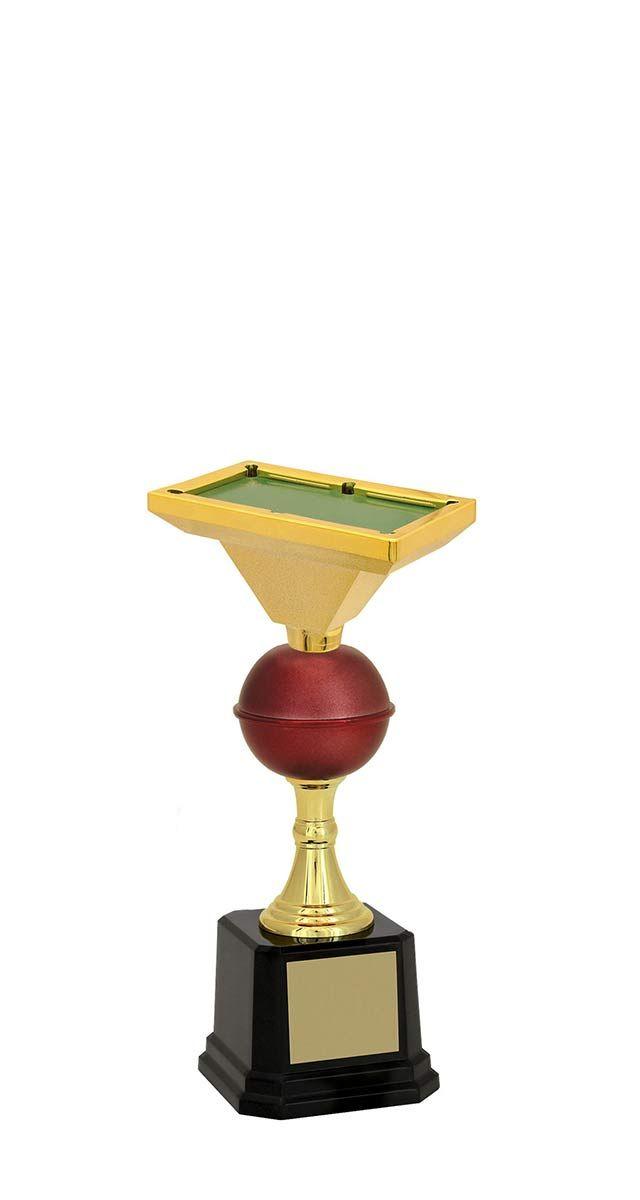 Troféu de Snooker-Sinuca SNK1709 24,3 / 22,3 /21cm