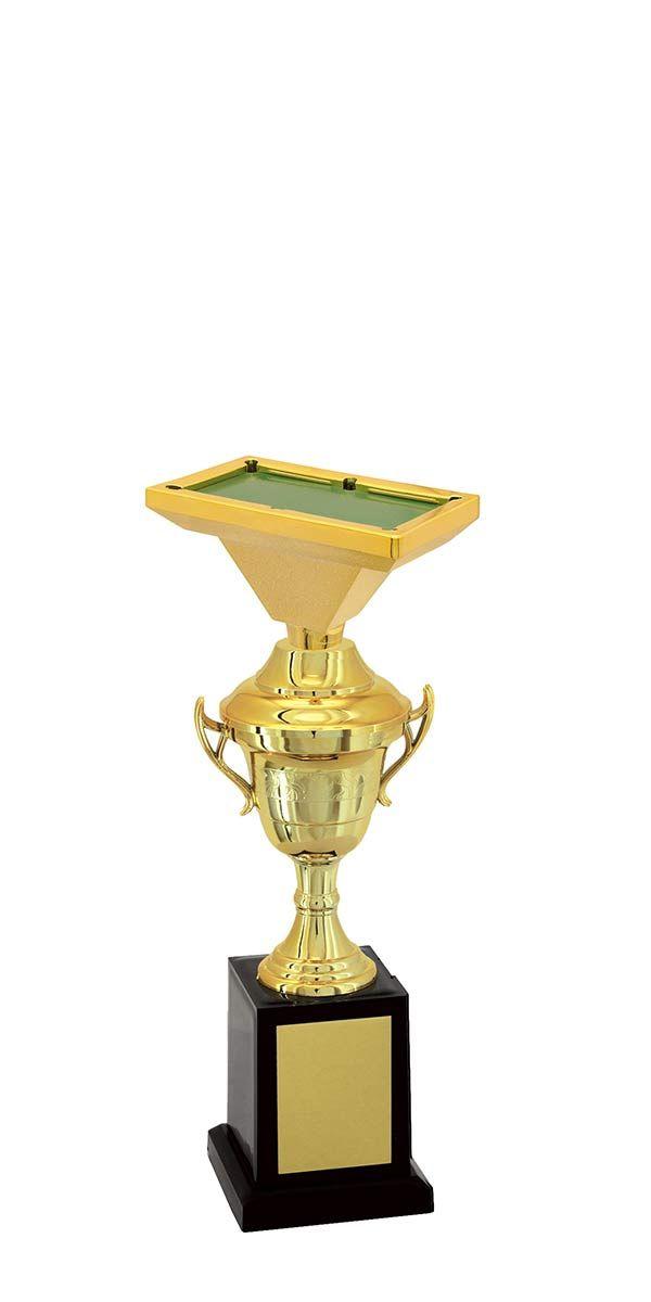 Troféu de Snooker-Sinuca SNK1909 28,3 /25,3 /22,3cm