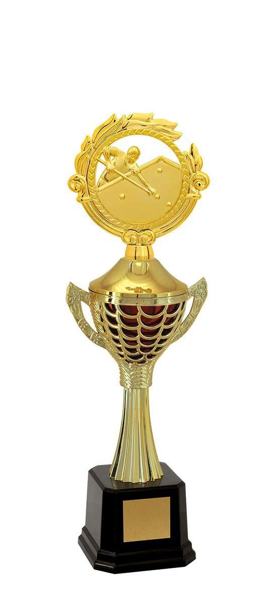 Troféu de Snooker-Sinuca SNK2300 42,5 / 39,0 / 36,5cm