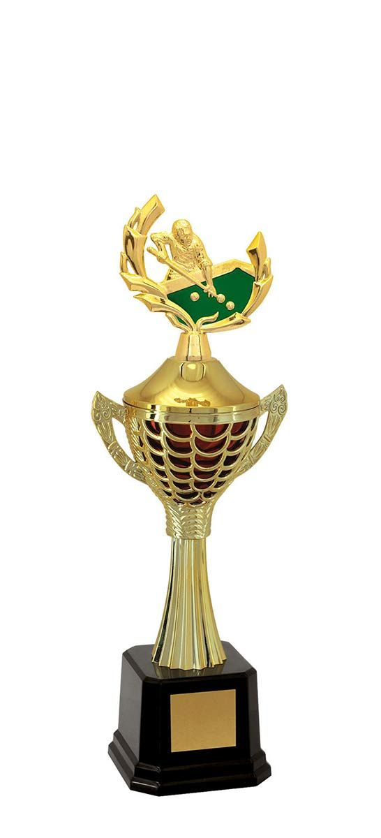 Troféu de Snooker-Sinuca SNK2303 40,0 / 36,5 / 34cm