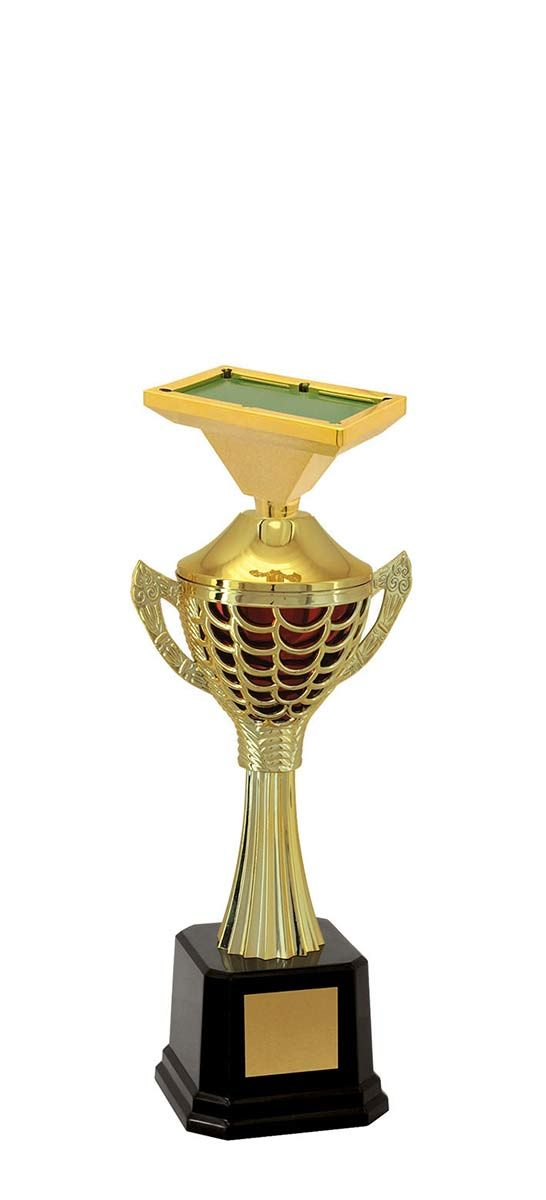 Troféu de Snooker-Sinuca SNK2309 35,3 / 31,8 / 29,3cm