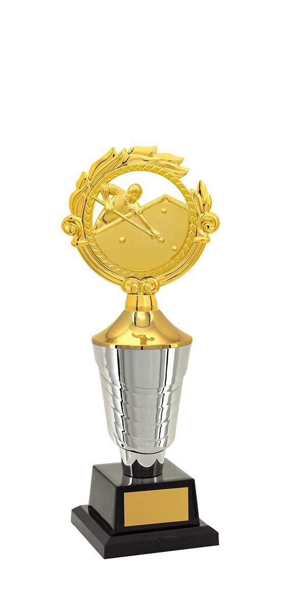 Troféu de Snooker-Sinuca SNK2700 34,5 / 32,5 / 30,5cm