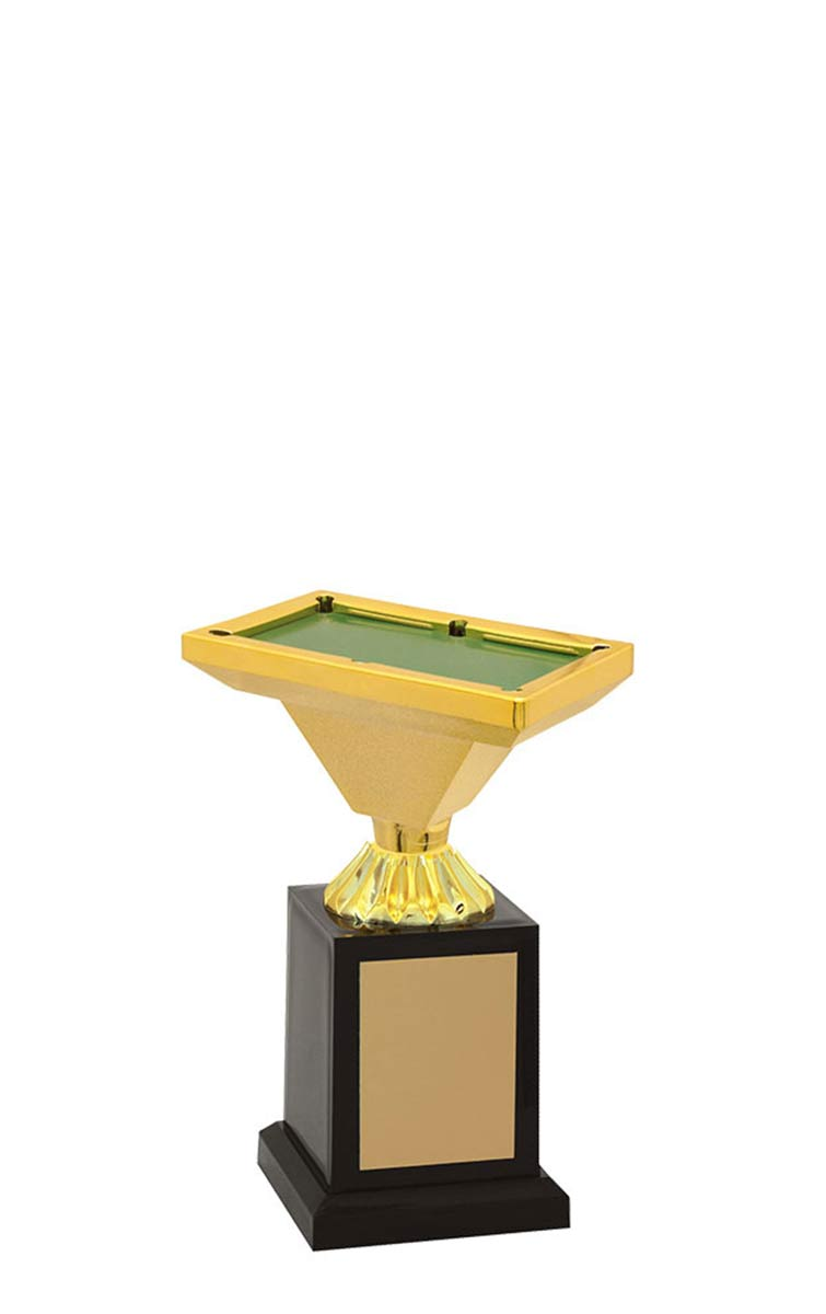 Troféu de Snooker-Sinuca SNK2809 17,3 / 14,3 / 12,3cm
