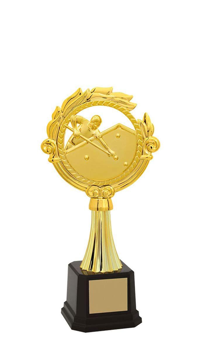 Troféu de Snooker-Sinuca SNK2900 27,0 / 24,2 / 20,8cm