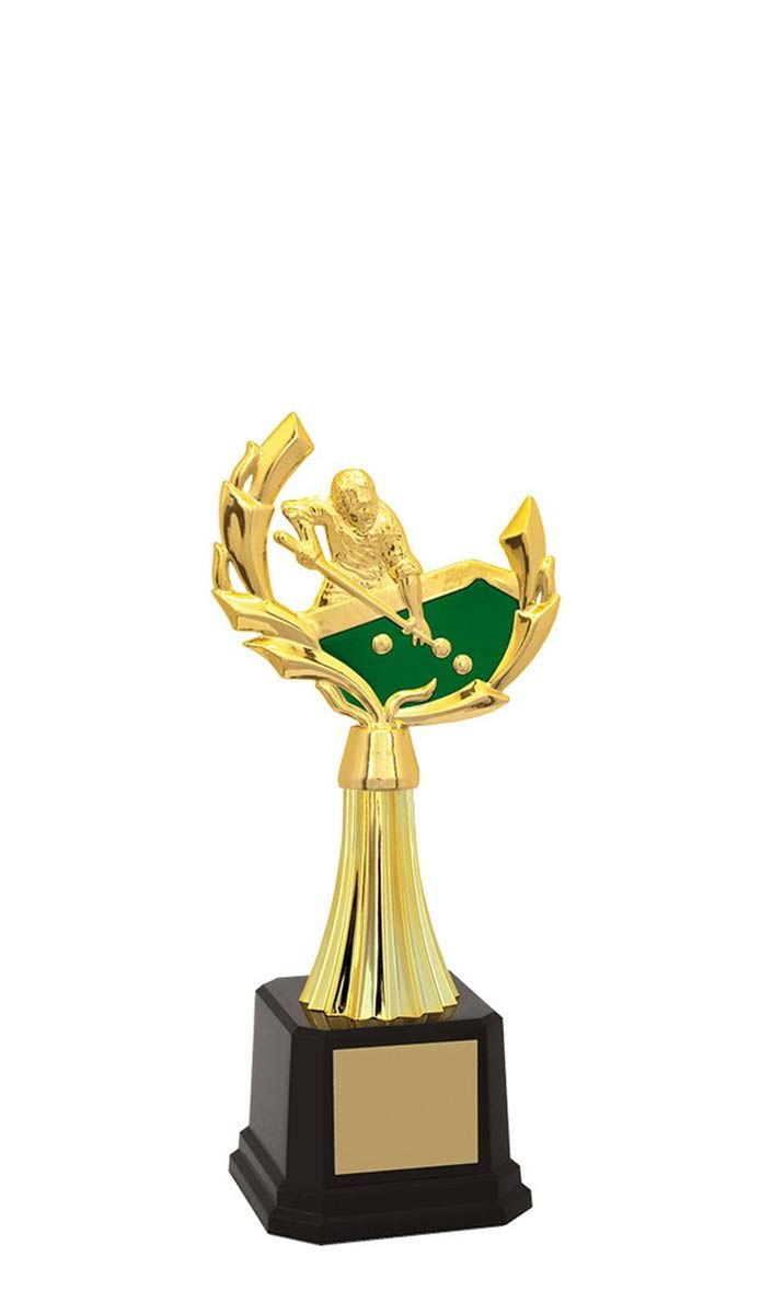 Troféu de Snooker-Sinuca SNK2903 24,5 / 21,7 / 18,3cm