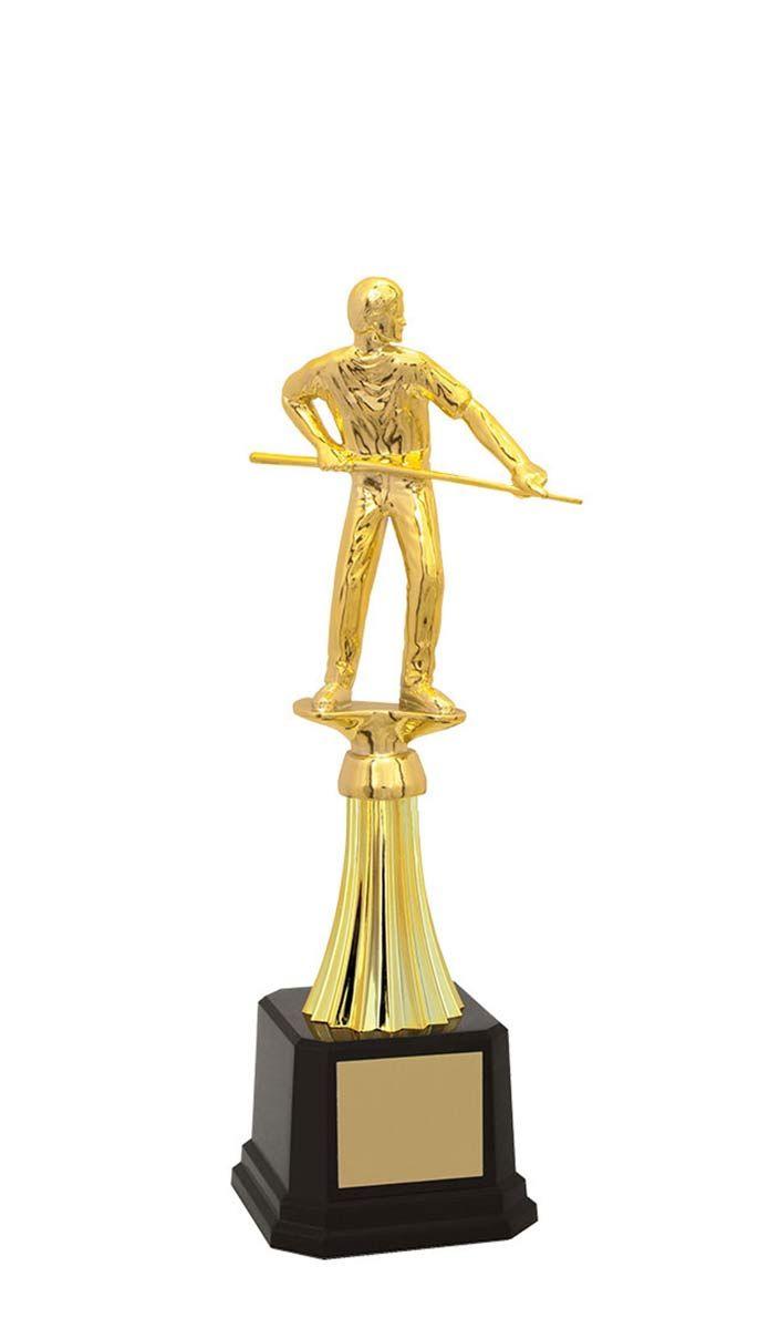 Troféu de Snooker-Sinuca SNK2906 28,5 / 25,7 /22,3cm