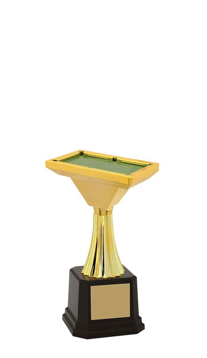 Troféu de Snooker-Sinuca SNK2909 19,8 / 17,0 /13,6cm