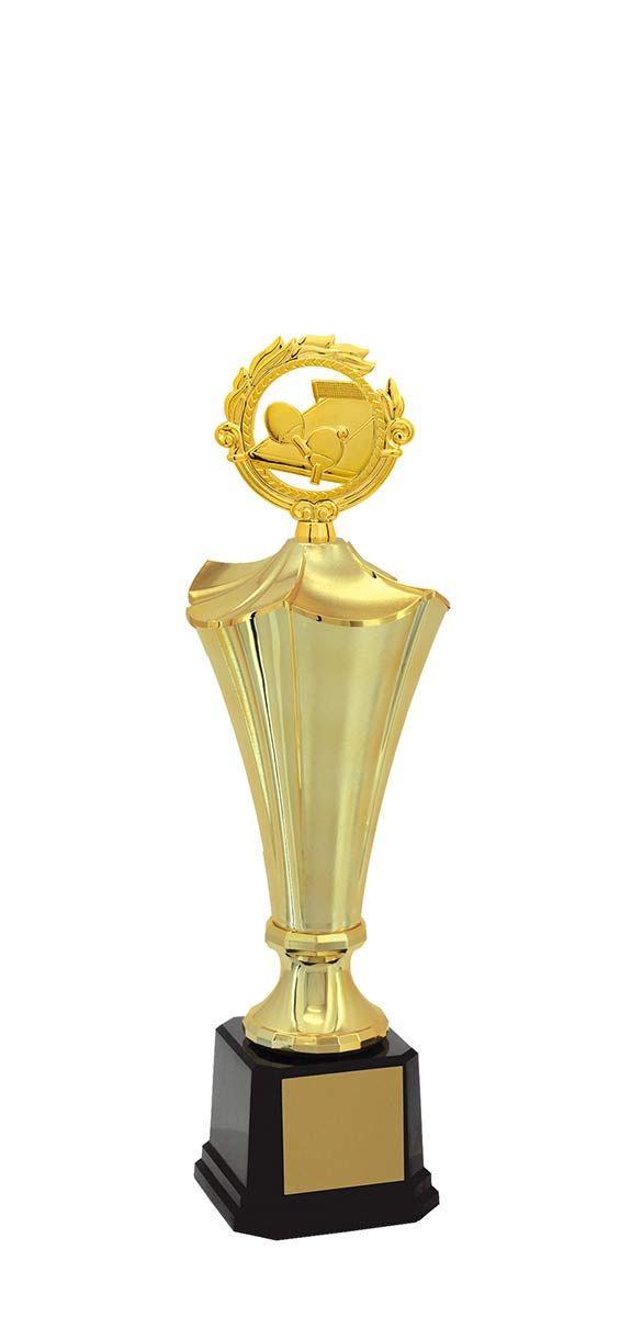 Troféu de Tênis Mesa TMS300 60,5 / 52,5 / 43,5cm