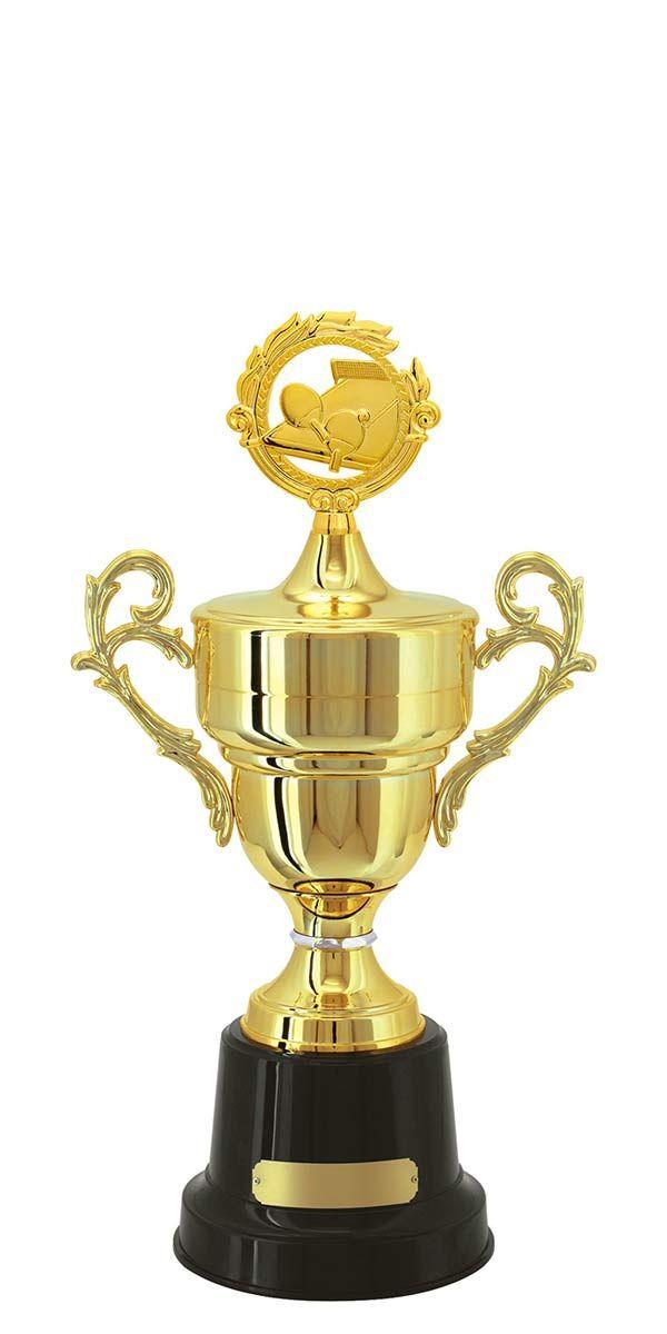 Troféu de Tênis Mesa TMS3100 59,5 / 56,5 / 51,5cm