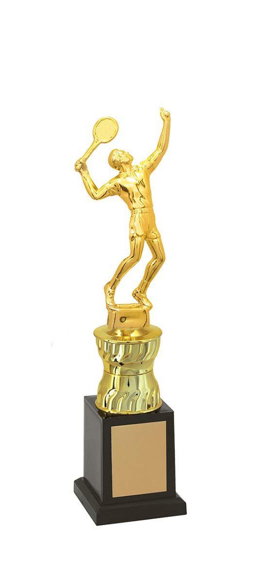Troféu de Tênis TNS1300 33,2 / 30,2 / 28,2cm