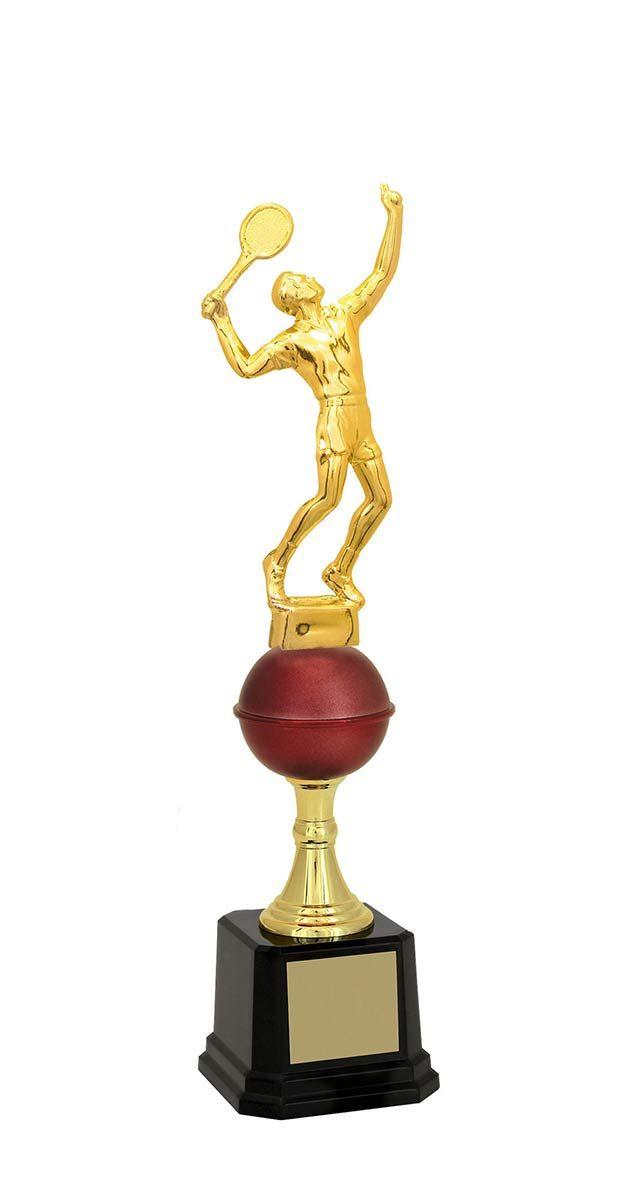 Troféu de Tênis TNS1700 35,2 / 33,2 / 31,9cm