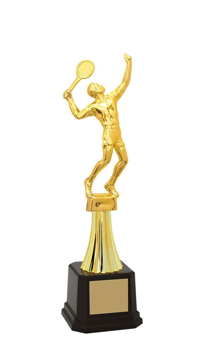 Troféu de Tênis TNS2900 30,7 / 27,9 / 24,5cm