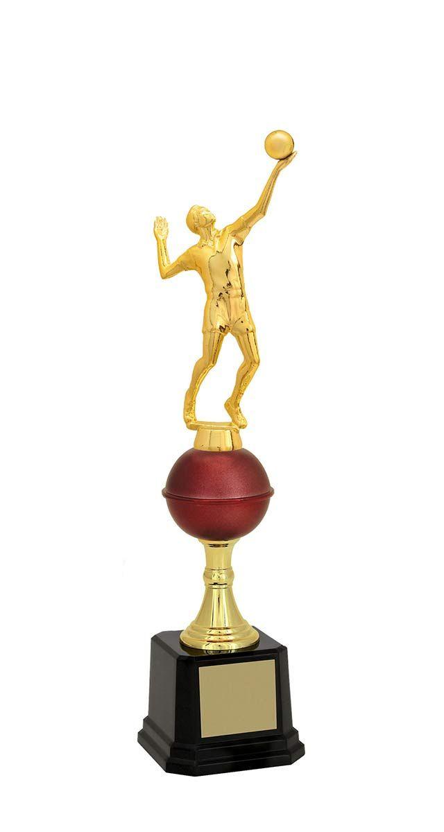 Troféu de Vôlei VOL1700 35,0 / 33,0 / 31,7cm