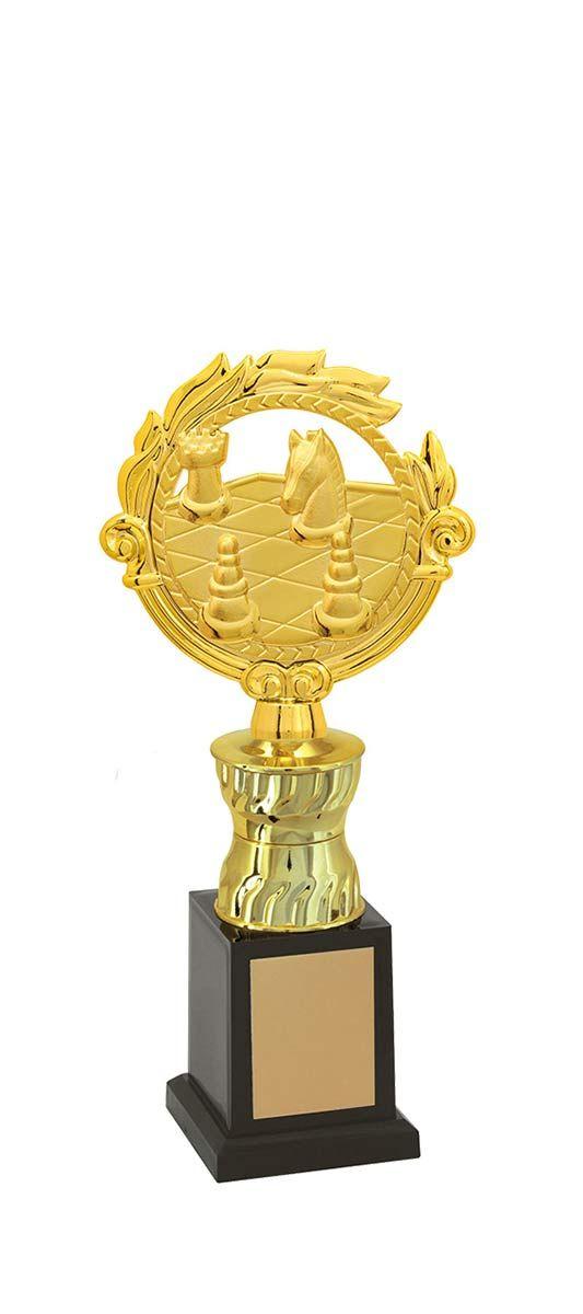 Troféu de Xadrez  XAD1300 29,5 / 26,5 / 24,5cm