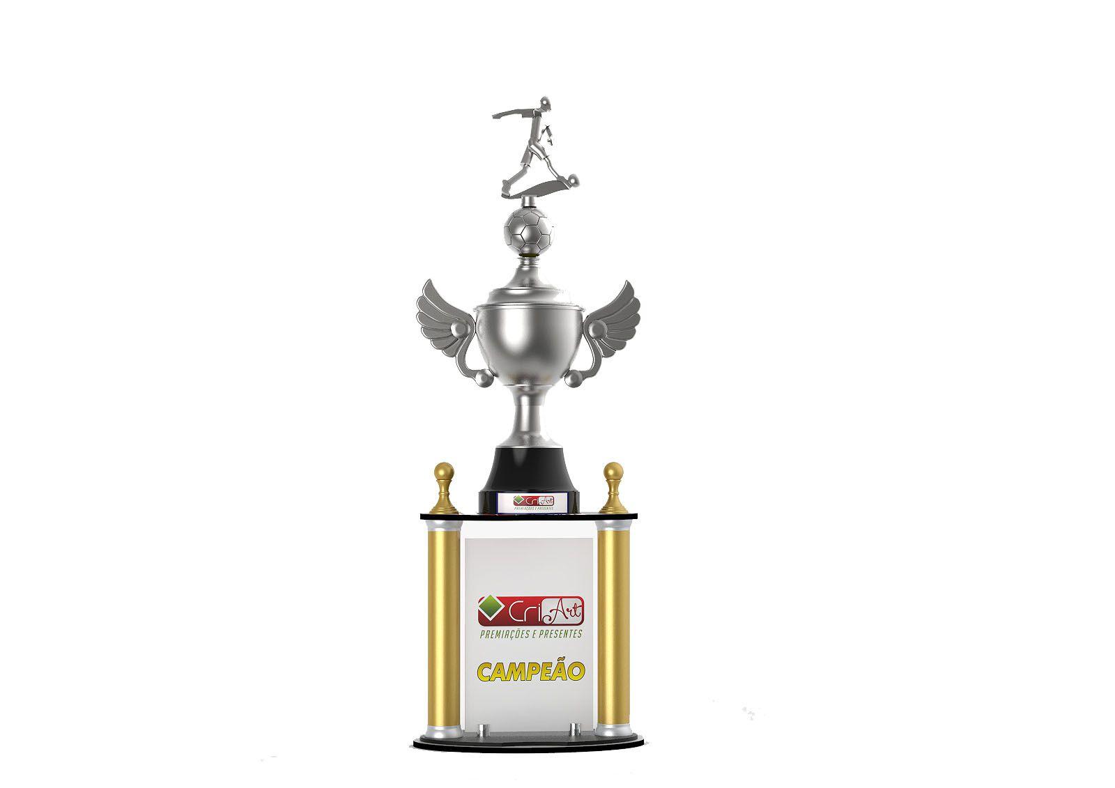 Troféu Personalizado Futebol FUT4300 96,0 / 91,0 / 86,0cm