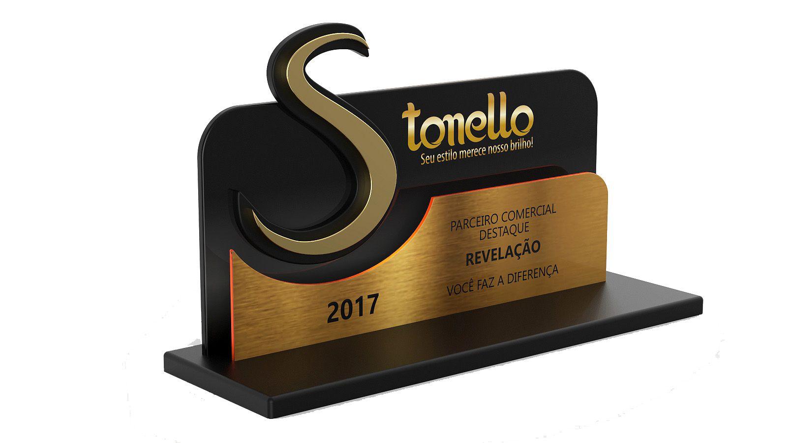 Troféu-Placa personalizado TPL4000 - 23x13cm