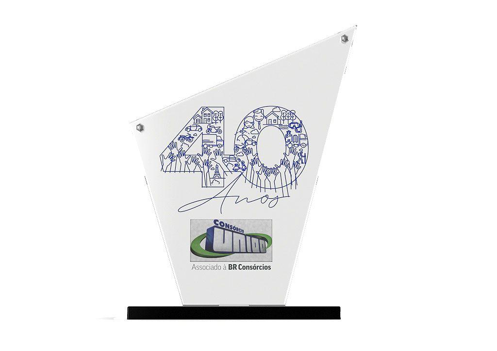 Troféu-Placa Personalizado TPL7000 19x15cm
