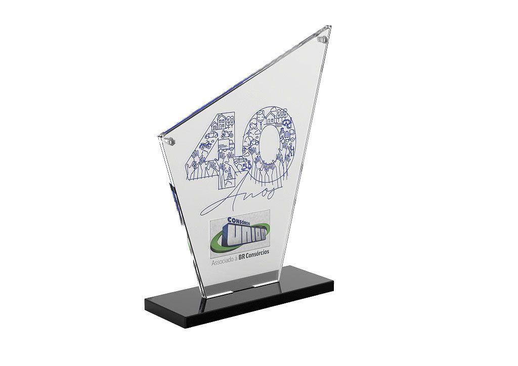 Troféu Placa Personalizado TPL7000 19x15cm
