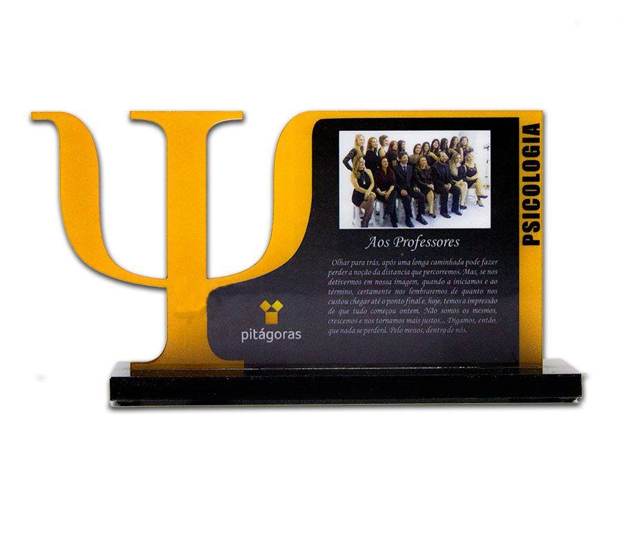 Troféu-Placa Personalizado TPL3000 - 21x13cm