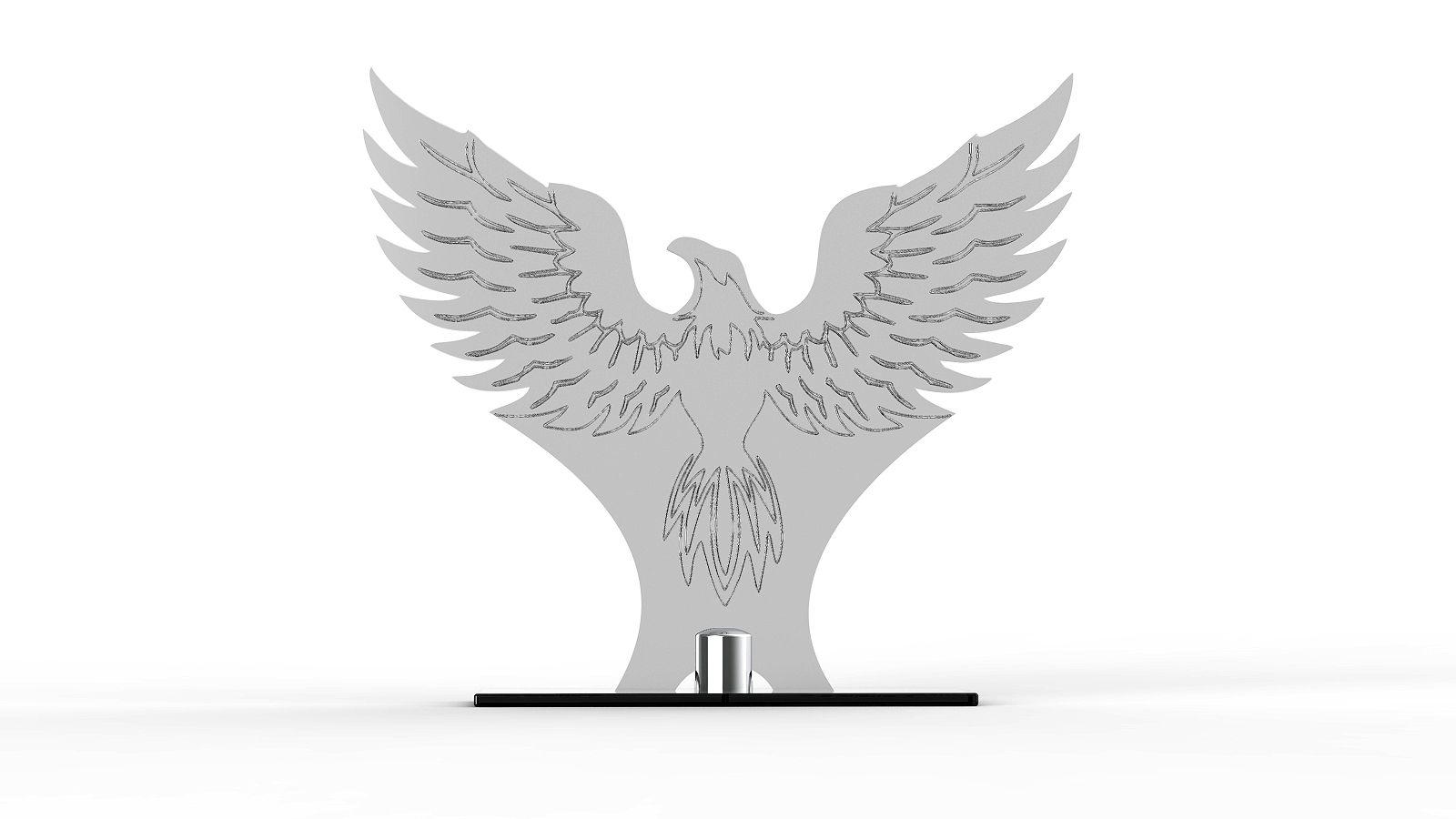 Troféu Personalizado TRF4900 22x19cm