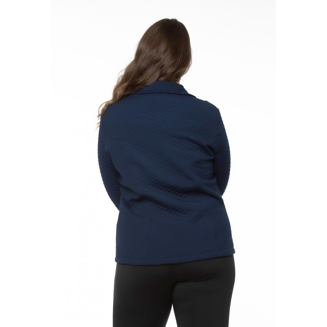 Jaqueta Metalassê Azul Marinho