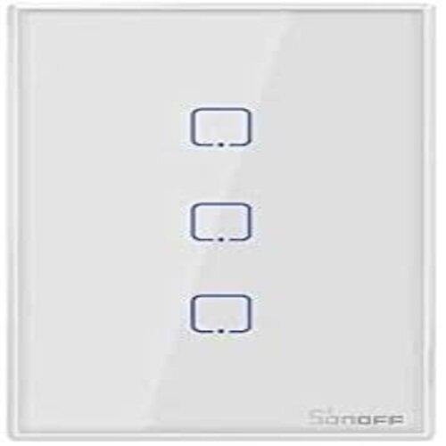 Interruptor Sonoff Touth 3 Botões Wifi