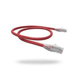 Patch Cord U/utp Gigalan Cat.6 Cm T568a/b 1,5m Vermelho